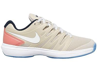 Nike Air Zoom Prestige (Light Orewood Brown/White/Sunblush) Women