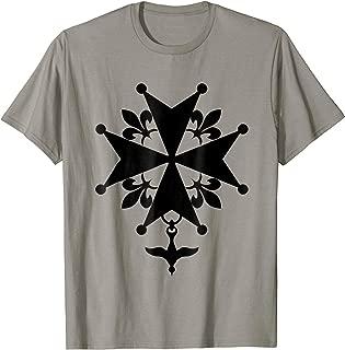 Huguenot Cross T-Shirt Christian Christianity Evangelical