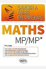 Mathématiques MP/MP* (Savoir et Faire en Prépas) Format Kindle