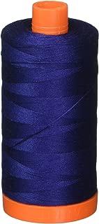 Aurifil Mako Cotton Thread Solid 50wt 1422yds Dark Navy