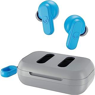 Skullcandy Dime True Wireless In-Ear Earbuds With Charging Case Light Grey/Blue