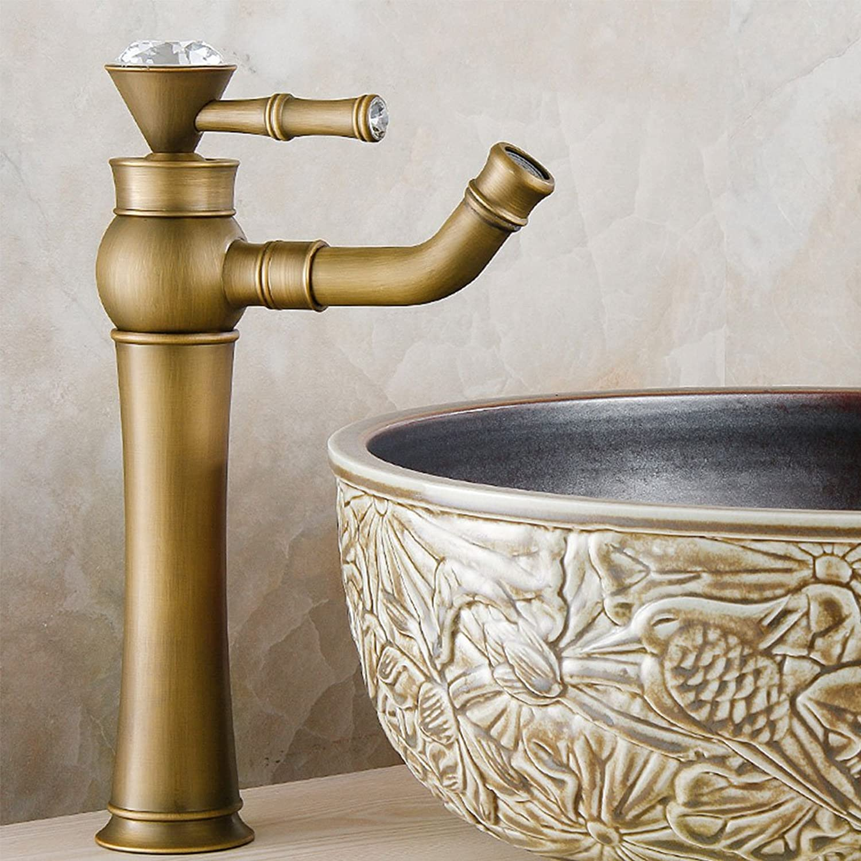 Antique European Retro Basin Mixer High-end Fashion Creative Hot And Cold Faucet ( Size   B )