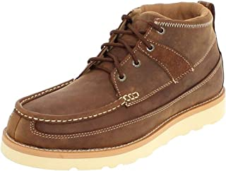 Men's Casual Wedge Crepe Sole Boots