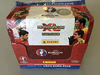 UEFA Road to Euro 2016 ADRENALYN XL Card box By PANINI 50 packs (300 cards)