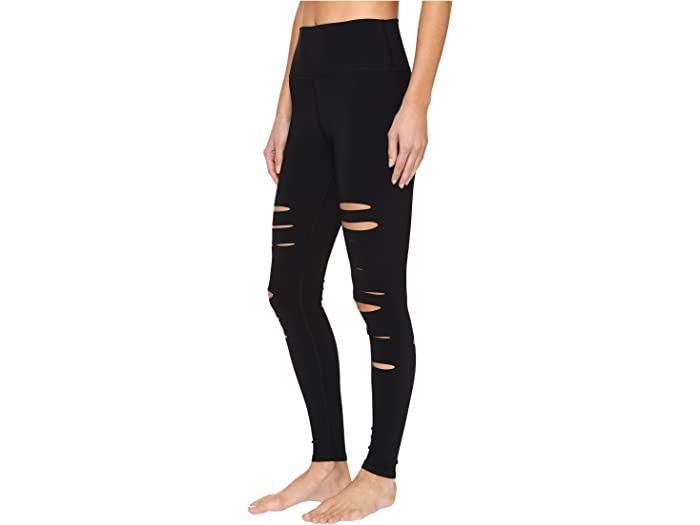 ALO Womens Ripped Warrior Leggings
