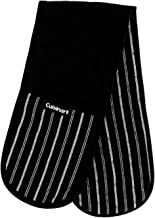 Cuisinart Quilted Double Oven Mitt, Twill Stripe, 7.5 x 35 inches – Heat Resistant..