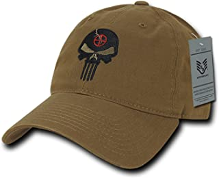 40d4c2b4 BHFC Coyote Punisher Skull Military Navy Seal Special Forces Relaxed Polo  Baseball Hat Cap