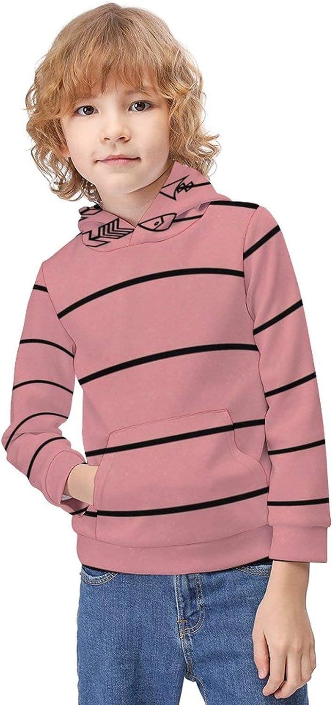 ODOKAY Teens Casual Pull-Over Hoodie Long Sleeve Printed Sweater for Children