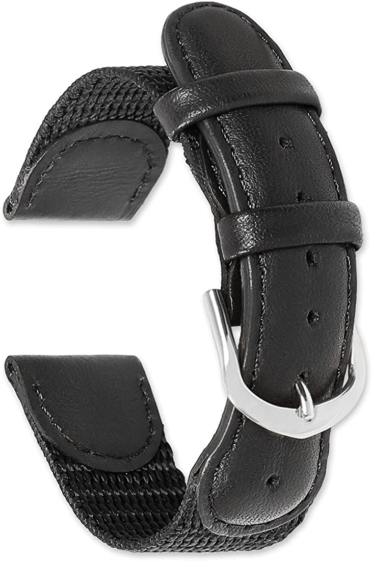 deBeer Swiss Army Style Watch Strap Band favorite 16mm 18 Sizes: - Lowest price challenge