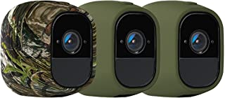 Arlo Pro Skins, Set of 3, Green/Green/Camouflage, Arlo Pro Compatible Official (VMA4200-10000S)