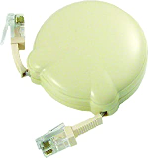 Softalk 01105 Cord Manager 8-Feet Ivory Landline Telephone Accessory