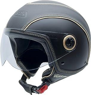 NZI 150263G067 Capital Visor Casco de Moto 57-58 Talla M Color Negro Mate