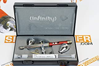 Harder & Steenbeck Infinity CR Plus 3in1 Airbrush 0.15 + 0.2mm + 0.4mm Nozzle Sets. Special by SprayGunner