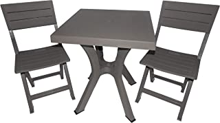 Tavoli Pieghevoli Con Sedie A Scomparsa.Amazon It Tavolo Pieghevole Con Sedie Casa E Cucina