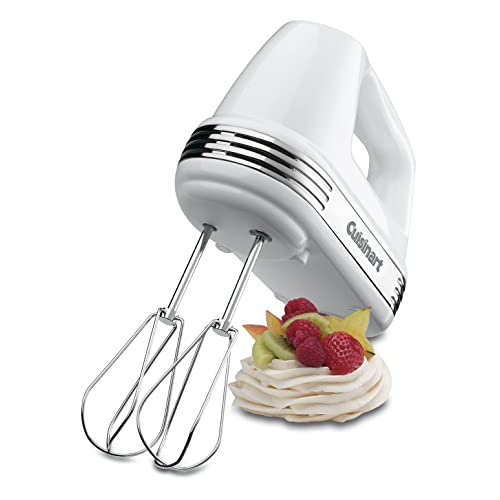 Cuisinart HM-70C Power Advantage 7 Speed Hand Mixer - White
