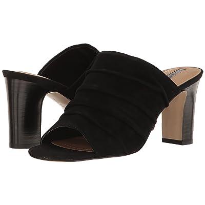 Tahari Ariana (Black Suede) High Heels
