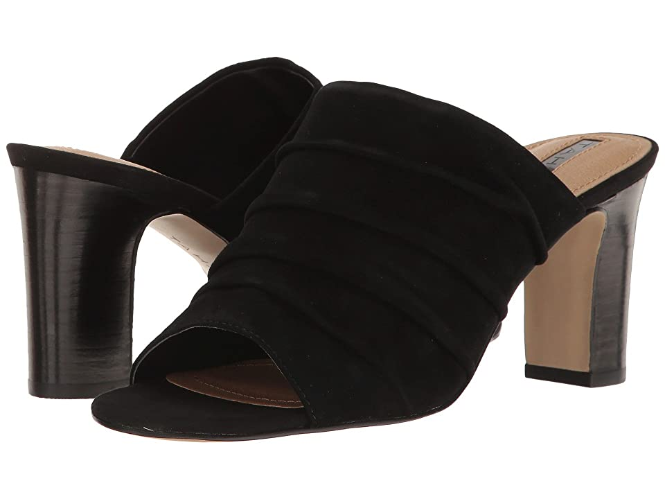 77a514cac Tahari Ariana (Black Suede) High Heels