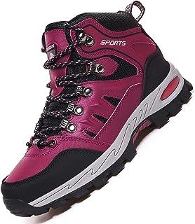 Rokiemen Chaussures de Randonnée Hautes Homme Femme Extérieure Antidérapants Bottes de Trekking Escalade Promenades Sneakers