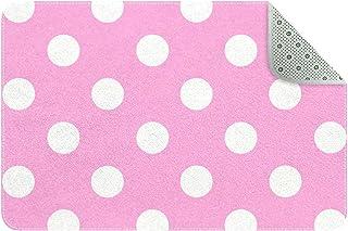 Doormat Custom Indoor Welcome Door Mat, Polka Dot Background Home Decorative Entry Rug Garden/Kitchen/Bedroom Mat Non-Slip...