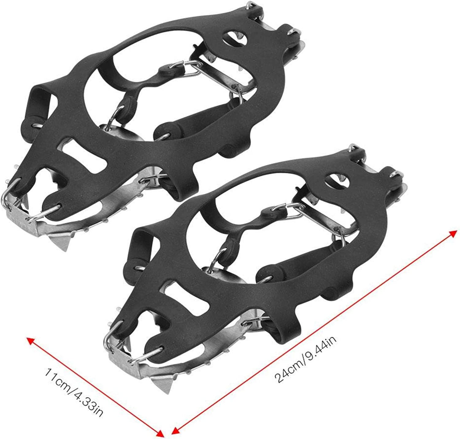 Santing 18 Teeth 1 Pair Slip R Mountain for Crampons Spikes shipfree Mud Max 82% OFF