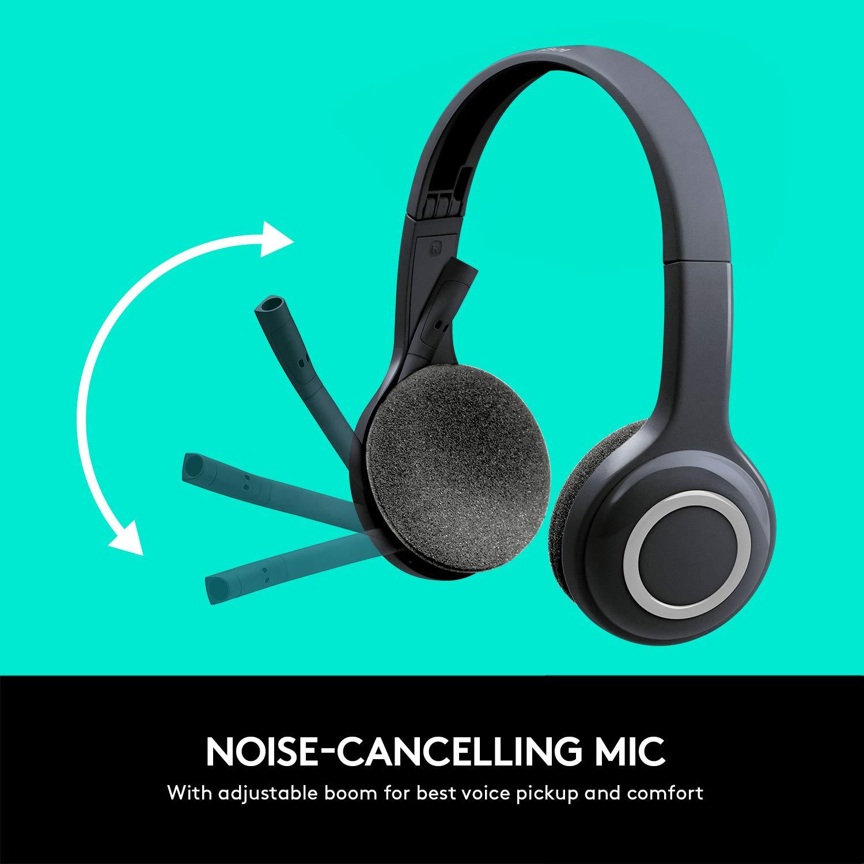 Amazon.com: Logitech 981-000341 H600 Wireless Headset: Computers & Accessories