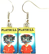 Be More Chill Playbill Novelty Dangle Earrings Musical Broadway Series