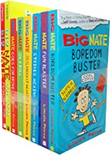 Lincoln Peirce Big Nate 8 Books Collection Pack Set RRP: £49.92 (From the Top, Out Loud, Goes for Broke, On a Roll, The Boy with the Biggest Head in the World, Strikes Again, Fun Blaster, Boredom Buster)