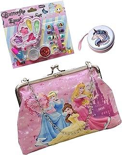 Le delite Unicorn Fur Sling Bag for Girls / Sling Bag Kids/ Cute Handbag/ Picnic Purse / Birthday Combo Set