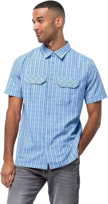 Jack Wolfskin Men's Thompson 宅配便送料無料 人気ブランド多数対象 Shirt