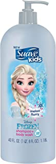 Suave Kids Shampoo & Body Wash, Melon Flurry (40 fl. oz.)