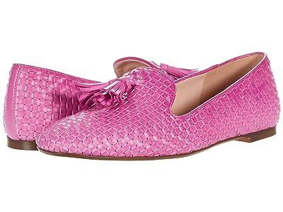 J.Crew Woven Sumner Loafer (Neon Flamingo) Women