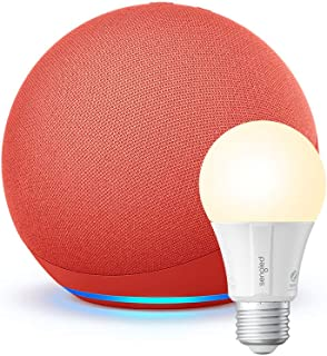 All-new Echo (4th Gen) + Sengled Smart Bulb | (PRODUCT) RED