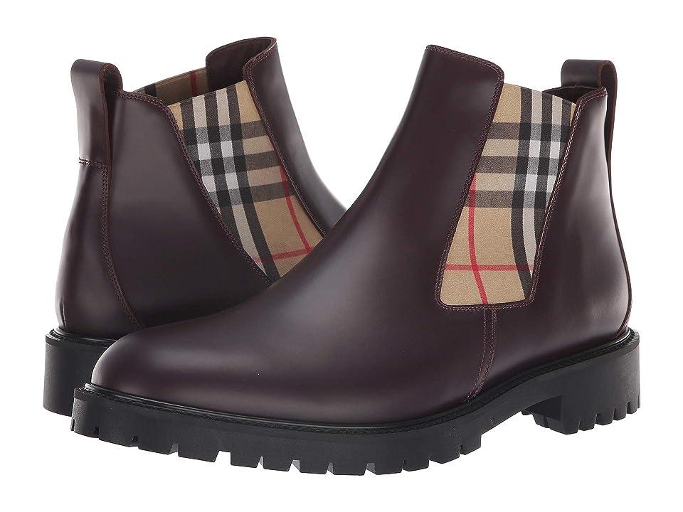 Burberry Allostock Boot (Oxblood) Men
