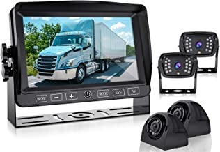 $369 » Backup Camera and 7''1080P HD Monitor DVR Recorder for rv/car/Trucks/Trailer/Camper/Motorhome/Van/Pickup/SUV Xroose Rearvi...