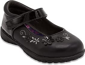 French Toast Girls Gretchen Flat Mary Jane Oxford Shoe Black
