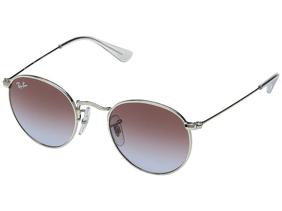 Ray-Ban Junior RJ9547S 44mm (Youth) (Silver/Light Blue Gradient) Fashion Sunglasses
