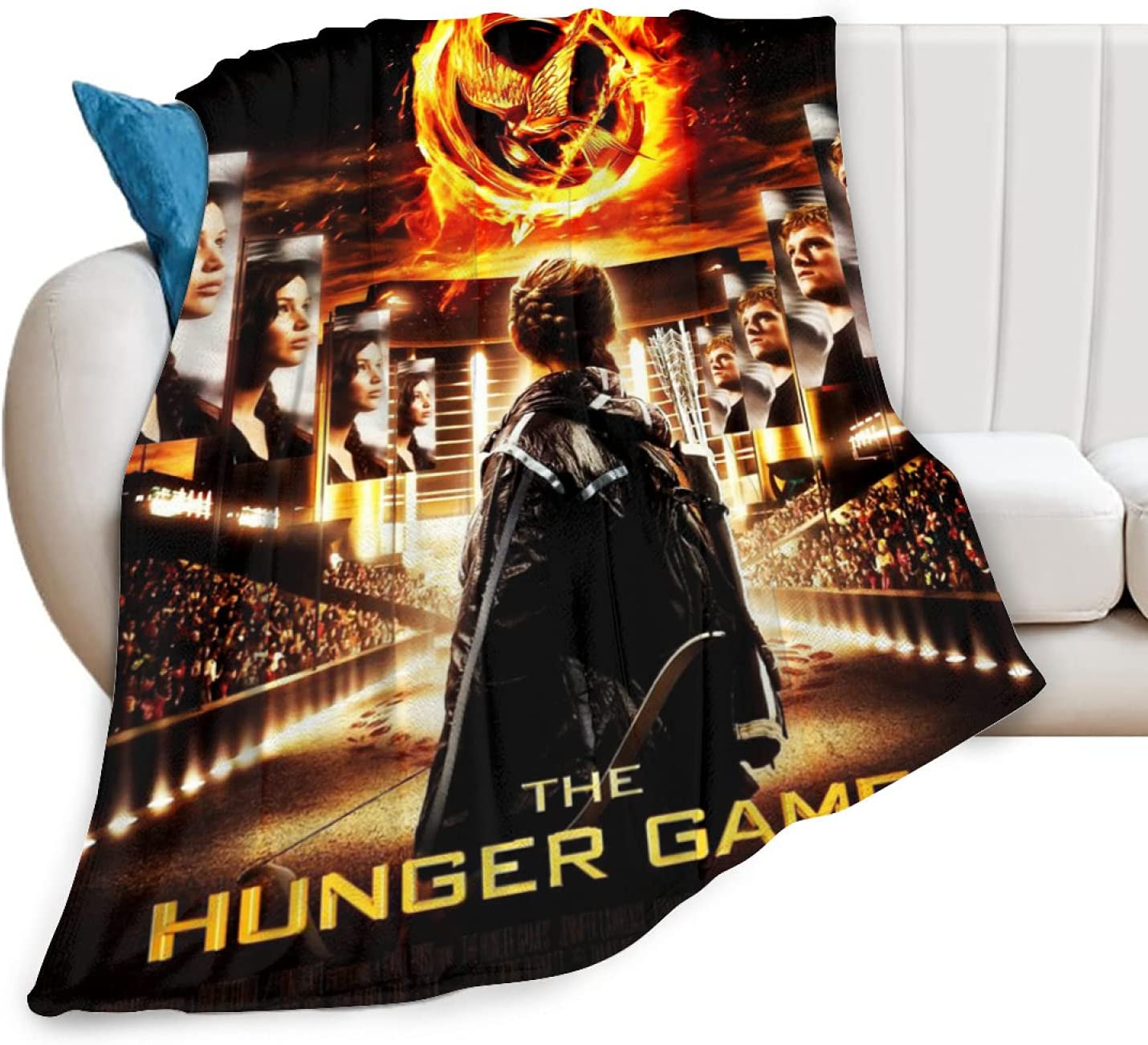 The Hunger Games Blanket Super Soft shop Flannel Sale price Anti-Pilling