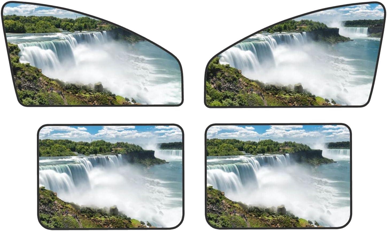 OINBDINH Niagara Falls 2021 new Pattern Car Side Shade Max 43% OFF Sun Set Window of