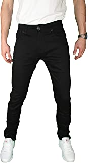 mens black moleskin jeans