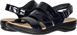 Navy Patent Croc Synthetic