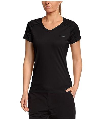 Columbia Zero Rulestm Short Sleeve Shirt (Black) Women