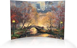 Trend Setters Central Park in The Fall Curved Acrylic Print - Home Decor Thomas Kinkade Artwork 10