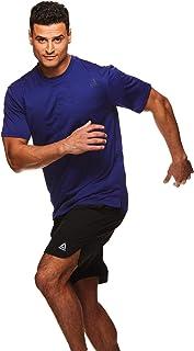 Reebok Men's Supersonic Crewneck Workout T-Shirt Designed...