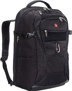 SwissGear TSA Approved 15 Inch Laptop Backpack Travel Gear 1900 - (Black)