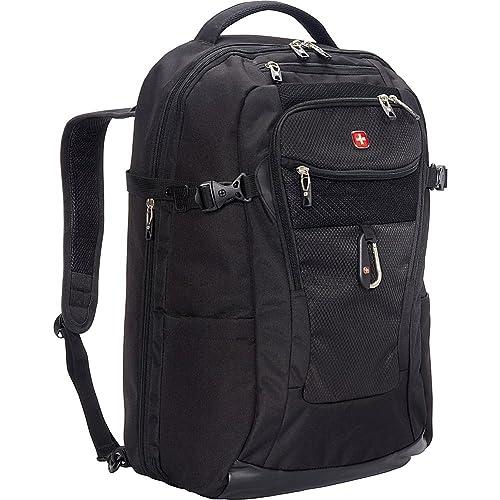 """SwissGear TSA Approved 15"""" Laptop Backpack Travel Gear 1900 - (Black)"""