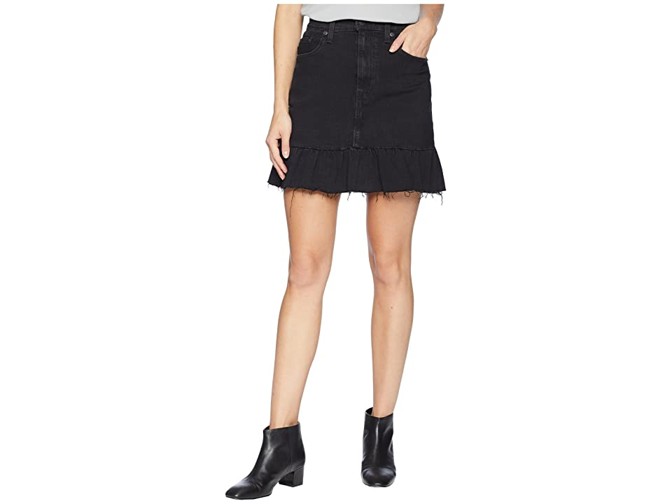 Levi's(r) Womens Ruffle Skirt Good (Devils Angel) Women's Skirt, Black