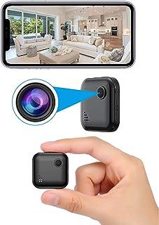 超小型隠しカメラ wifi OUCAM 小型カメラ ビデオカメラ スパイカメラ 防犯カメラ 1080P超高画質 赤外線暗視 動体検知 警報通知 長時間録画 ワイヤレス 屋内/屋外 スマホ用 日本語取扱付き