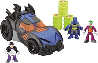 Fisher-Price Imaginext DC Super Friends Batmobile with Bonus Figures