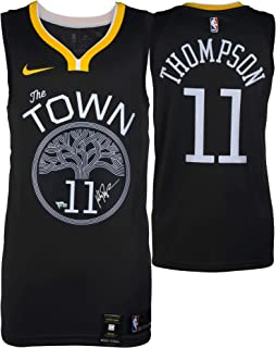 95a3f652ee9 Klay Thompson Golden State Warriors Autographed Black Nike Swingman  Statement Edition Jersey - Fanatics Authentic Certified