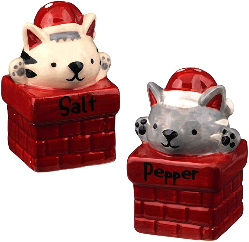 Grasslands Road Pet Lover Cat Salt And Pepper Shaker Set